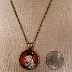 🤗 2 for $10 Elvis Pendant & Chain